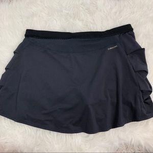 adidas Skirts - Adidas skirt gray & black skort pleating climacool